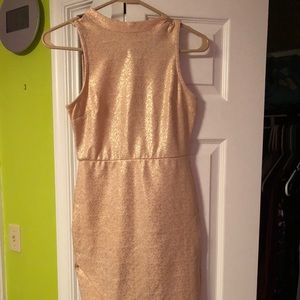 Pale Pink Skinny Tight Homecoming Dress